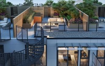 Midtown Modern_Unit D rooftop
